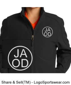 Embroidered Youth Jacket - Personalized Design Zoom