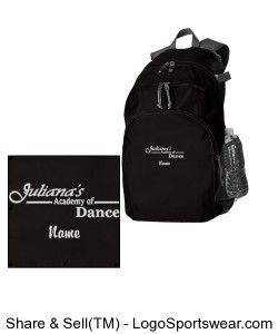 Embroidery with name - Prop Backpack by Holloway USA Design Zoom