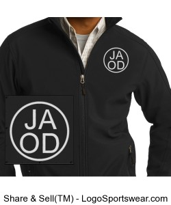 Embroidered Men's Jacket - Personalized Design Zoom